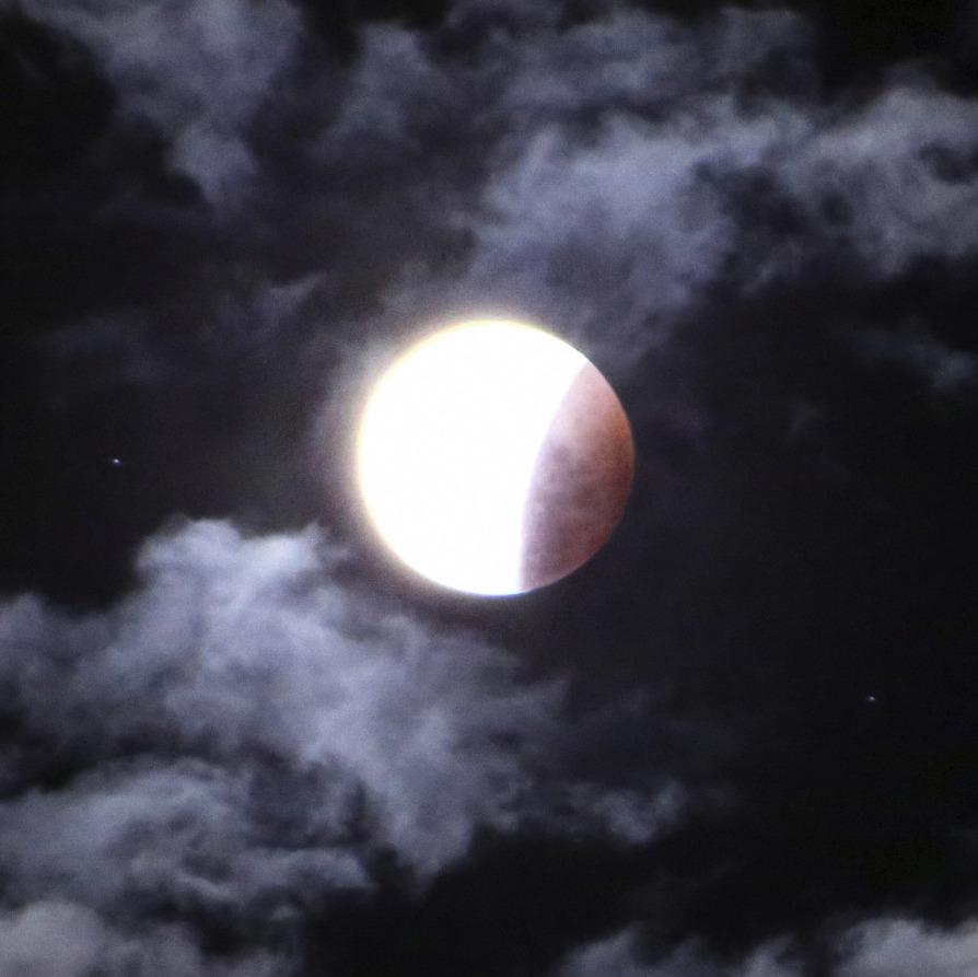 """Delivering Our Heart from Darkness"" - Live Vesak Lunar Eclipse Program at Dhammagiri"
