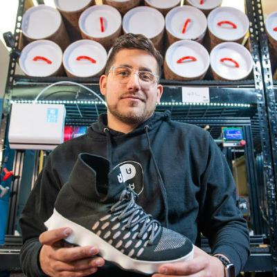 Nick Unis -- Stomping Through Challenges & Stepping Into The Sneaker Spotlight