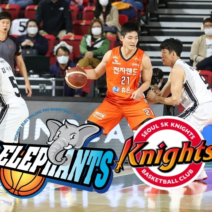 Inchon Etland Blackslamer vs Seoul SK Knights - NBET