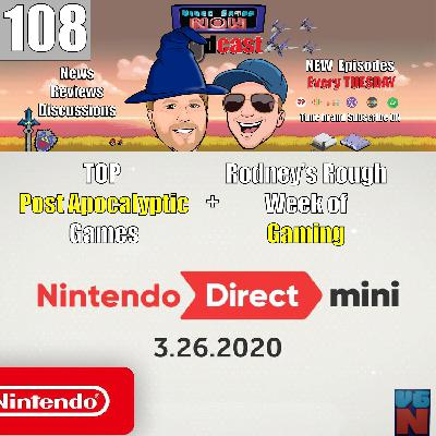 Nintendo Direct New News and Rodney's Rough Gaming Week