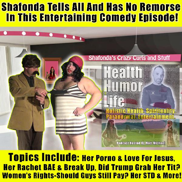 Funny Comedy Skit With ShaFonda - Her Savior Jesus & Her Secret Porno?, Her Rachet BAE, .Should Guys Still Always Pay? Trump, How Does Jesus Feel About Her Porno + Michelle Obama's Arms & Is Oprah Crazy? Uncensored! : X