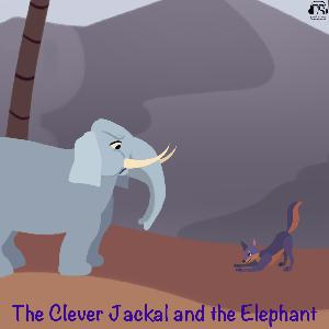 The Clever Jackal and the Elephant