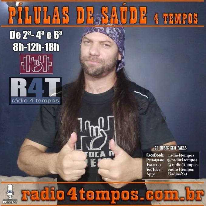 Rádio 4 Tempos - Pílulas de Saúde 122:Itazil Junior