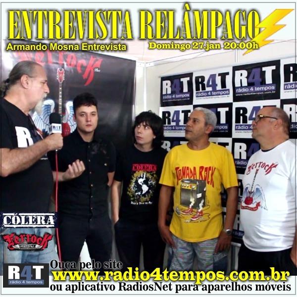 Rádio 4 Tempos - Entrevista Relâmpago 60