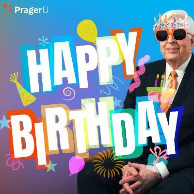 Happy Birthday, Dennis Prager!
