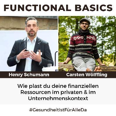 #176 Wie plast du deine finanziellen Ressourcen im privaten & im Unternehmenskontext mit Henry Schumann