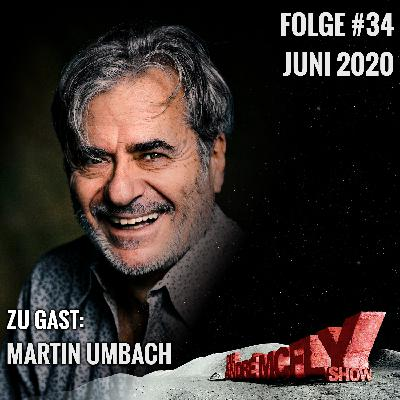 Die André McFly Show #34   Gast: Martin Umbach