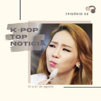 KPT Noticia #05: Repercussões nos casos de Mina e Minah, acidente do Seulong, retorno do The Rose e outras notícias da semana