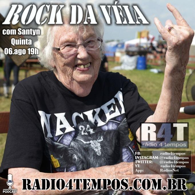 Rádio 4 Tempos - Rock da Véia 80:Rádio 4 Tempos