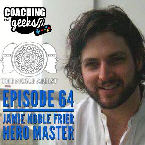 64 - Hero Master interview with Jamie Noble Frier - boardgame design and Kickstarter