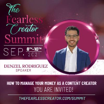 Content Creation Strategies, Managing Your Money and More with Denzel Rodriguez