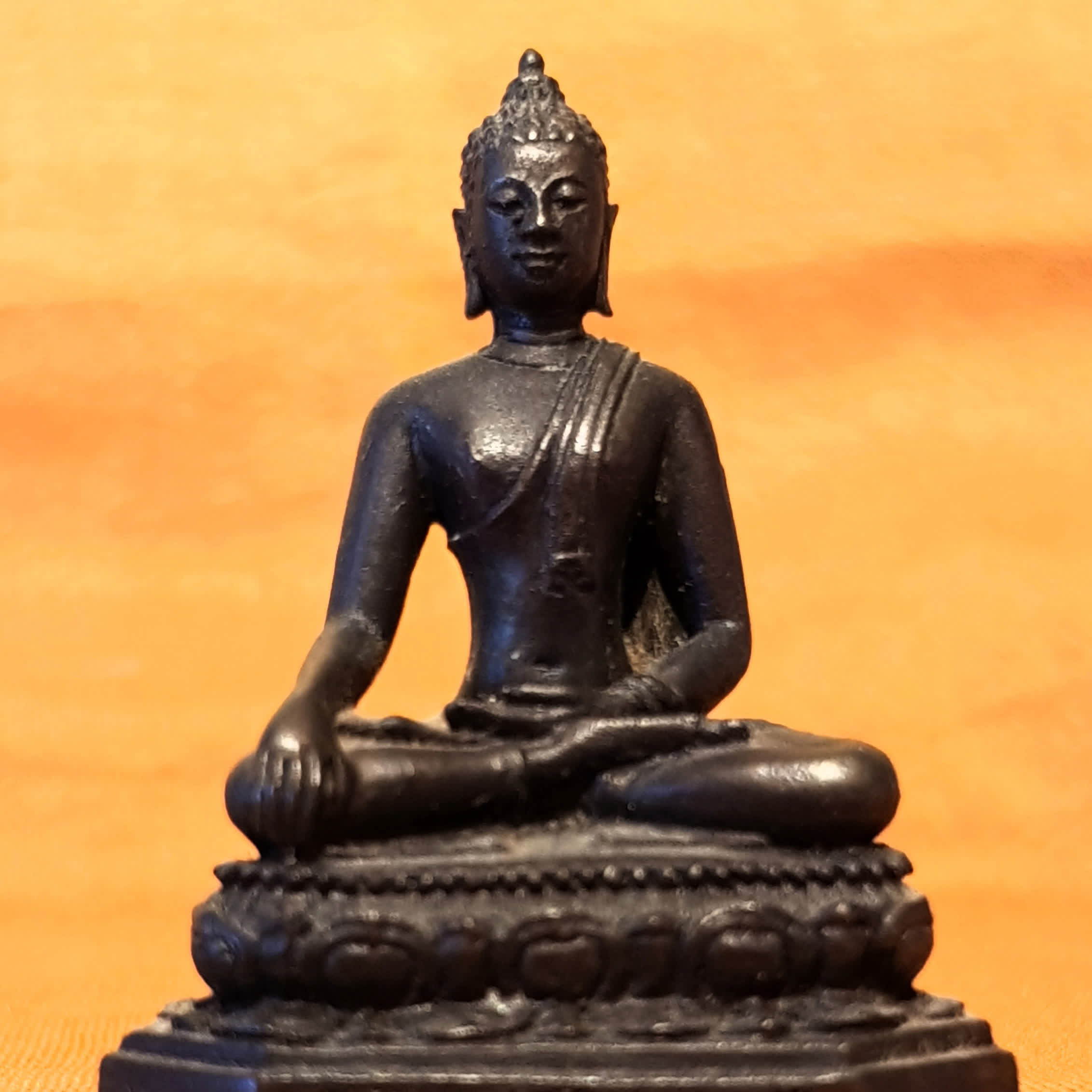 Alone against 10 Armies of Māra, the Buddha Won't Budge an Inch.