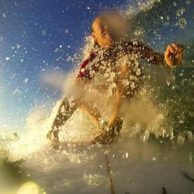 Big Wave Surfing & Mountain Biking in Australia with pro athlete: Chris Remm