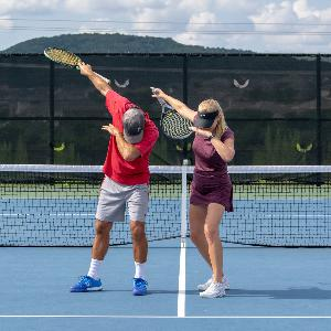 Can't seem to find your feet on the big points?  Let's help you find your tennis groove with rhythm and tempo.