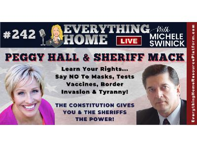 PEGGY HALL & SHERIFF MACK - Covid Facts, Vaccine Exemptions & The Constitution