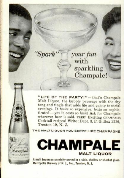 June, please bring me the malt liquor