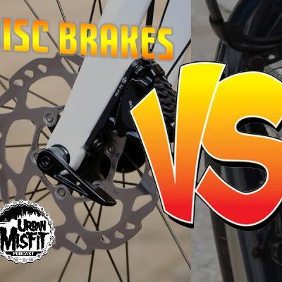 Disc Brake VS V-Brake w/ Kyle aka @krashd_bandit