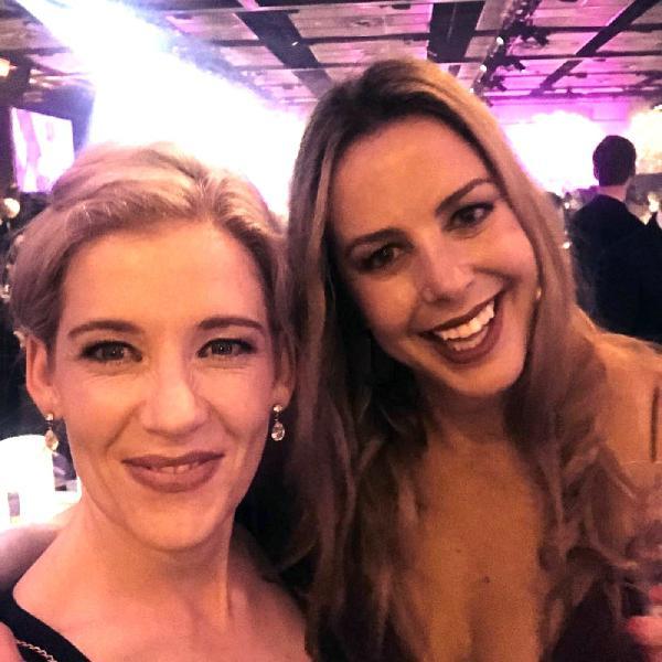 Kristen Lunman + Natalie Ferguson are obnoxiously happy