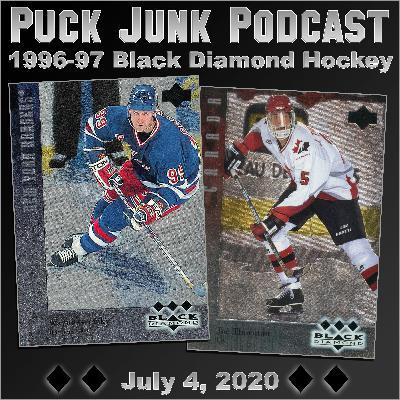 1996-97 Black Diamond Hockey Cards | #64 | 7/4/2020