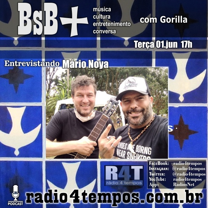 Rádio 4 Tempos - BsB+ 14:Gorilla