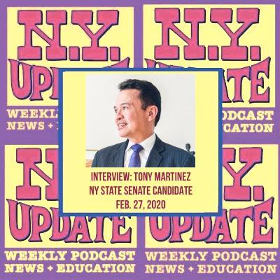 Interview: Tony Martinez candidate for NY Senate (NYS-38)