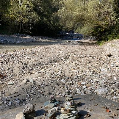 Wasserauszeit an der Essling - Forestpod