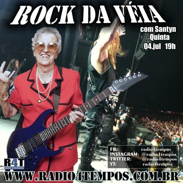 Rádio 4 Tempos - Rock da Véia 62
