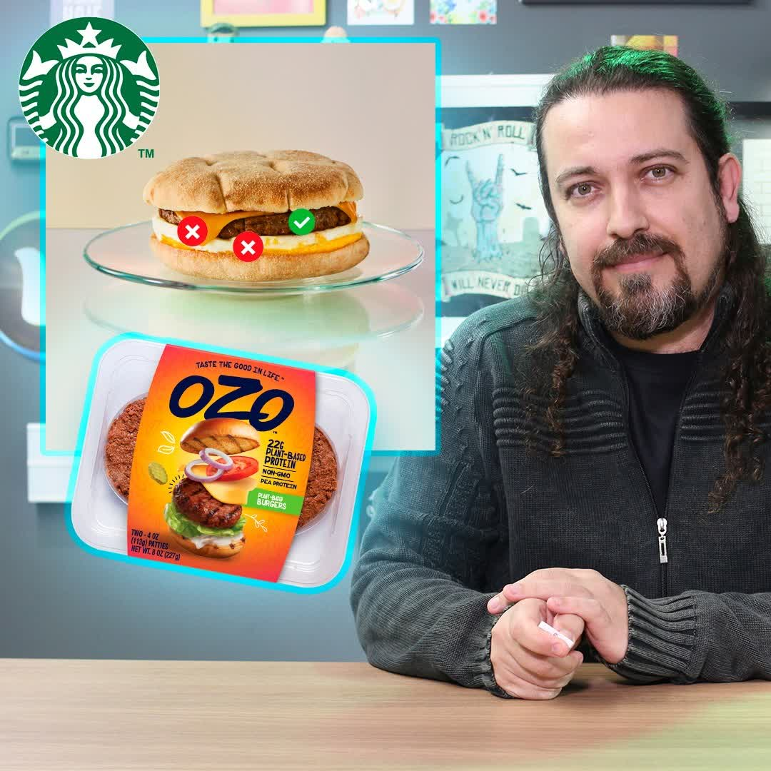 Starbucks lança sanduíche com carne vegetal + JBS lança carne vegetal + Atualização Delícias Veg