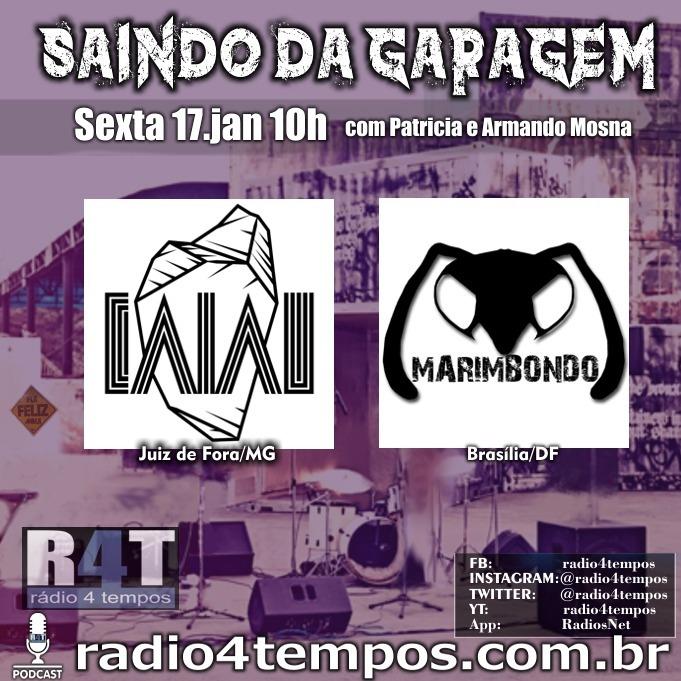 Rádio 4 Tempos - Saindo da Garagem 08:Rádio 4 Tempos