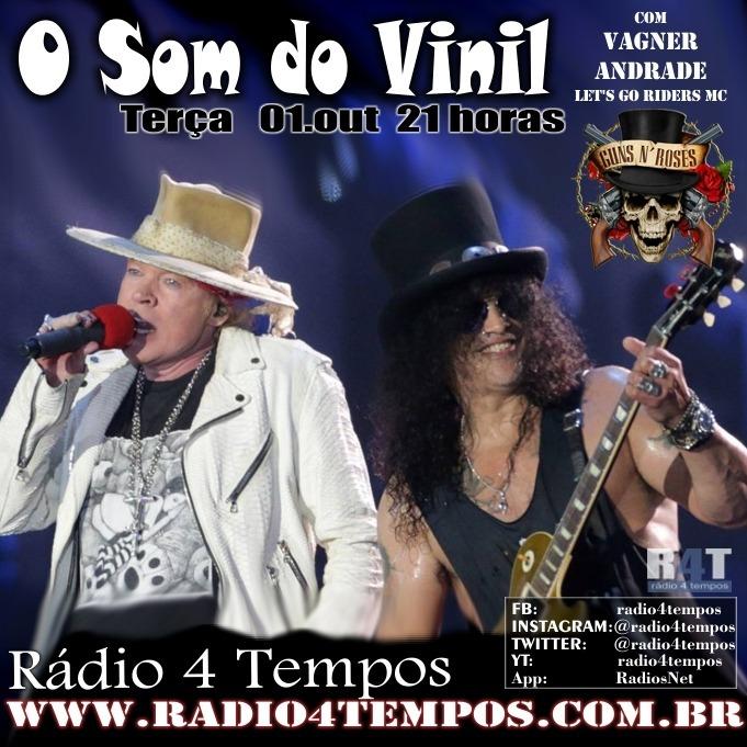Rádio 4 Tempos - Som do Vinil 17:Rádio 4 Tempos