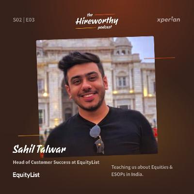 Learn all about ESOPs in India with Sahil Talwar