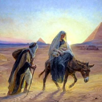 Lessons from the Flight to Egypt, Matthew 2:13-23.
