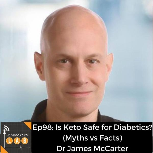 Is Keto Safe for Diabetics? (Myths vs Facts) • Dr James McCarter