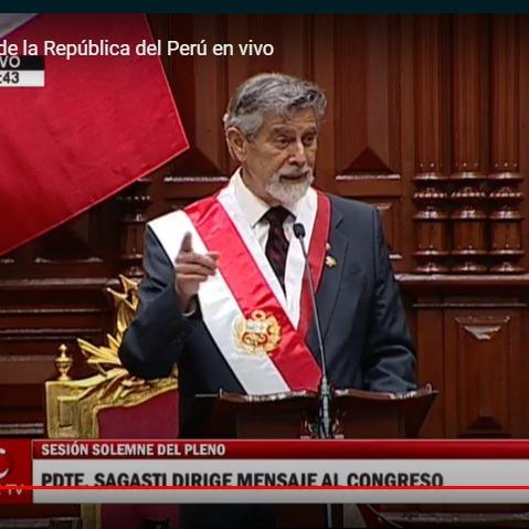 11-17-2020 - Sesión solemne - Pleno Congreso - juramentación Sagasti