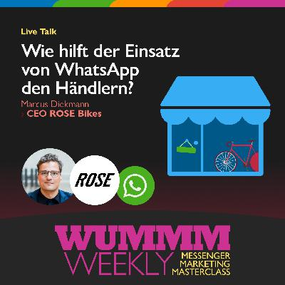 Marcus Diekmann – Wie hilft der Einsatz von WhatsApp den Händlern?