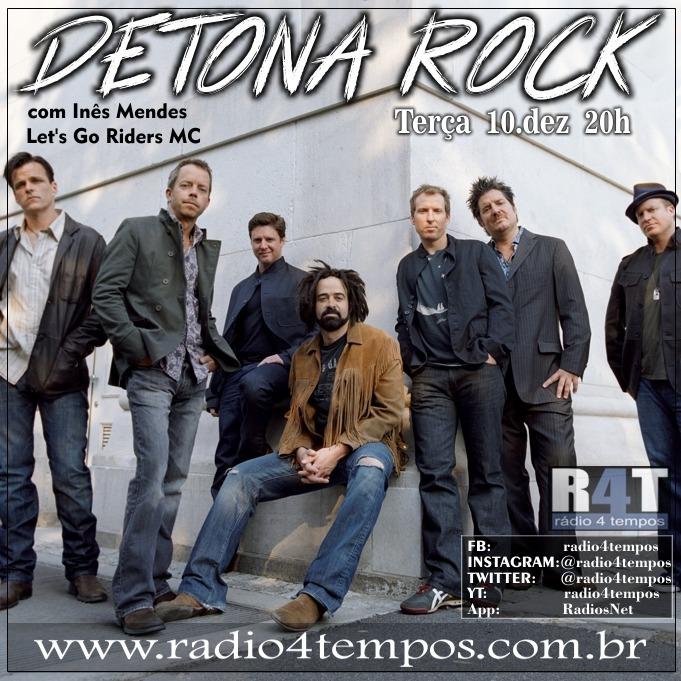 Rádio 4 Tempos - Detona Rock 29:Rádio 4 Tempos