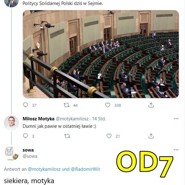 W CZERWONYM TRAMWAJU OD6 NUR FÜR GEIMPFTE von Stefan Kosiewski SSetKh FO PANDEMIA PSYCHOZY ZECh 20210503 ME SOWA