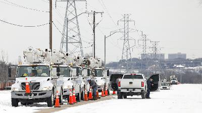Texas Is Defined By Energy. How Did The State's Power Grid Fail So Massively?