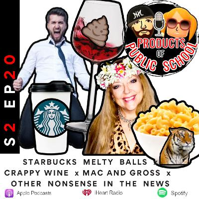 Starbucks Melty Balls x Macaroni and Gross x Underground Shaped Cheetos Cult