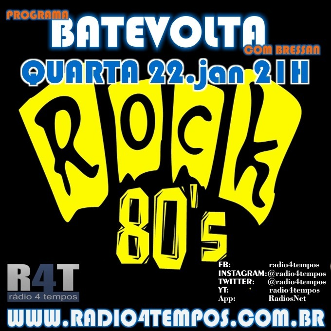 Rádio 4 Tempos - BateVolta 181:Rádio 4 Tempos