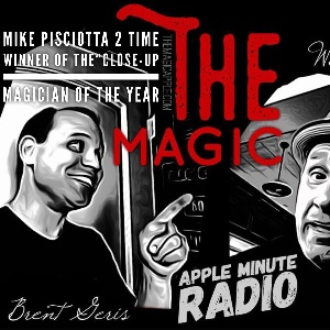 Mike Pisciotta this week on the Magic Apple Radio Show !