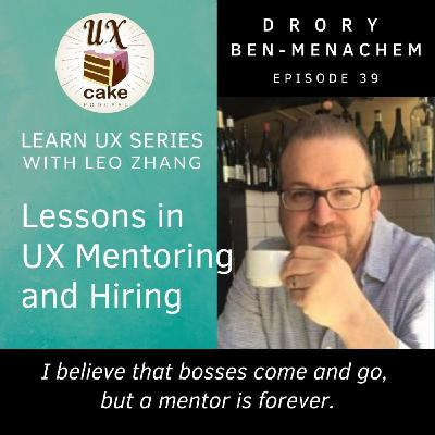 Learn UX: Mentoring and Hiring