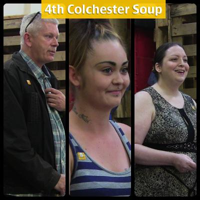 4th Colchester Soup with Will Quince MP interview