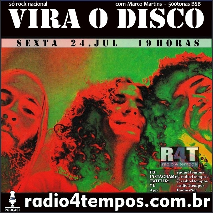 Rádio 4 Tempos - Vira o Disco 70