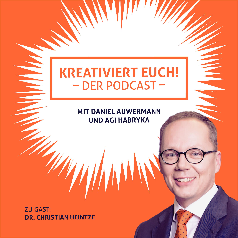 Christian Heintze erklärt, wie eine Insolvenz zur kreativen Transformation wird