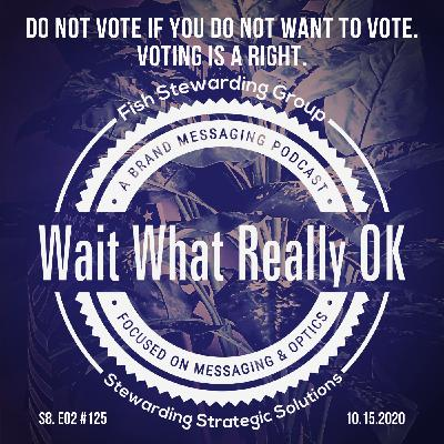 Do not vote if you do not want to vote. Voting is a right.