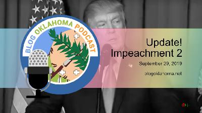 Blog Oklahoma Podcast Update