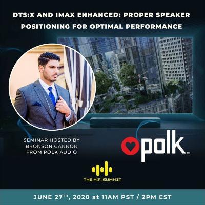 Polk Audio   DTS:X and IMAX enhanced: Proper speaker positioning for optimal performance   Bronson Gannon