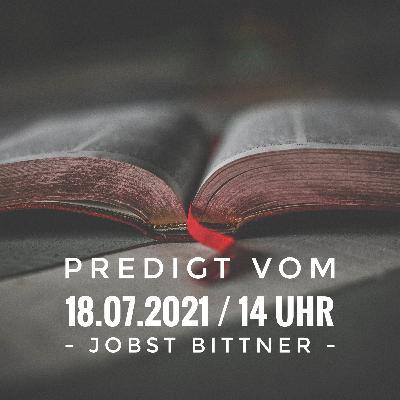 JOBST BITTNER - Die Perfektionismus-Falle / 18.07.2021 / 14 Uhr