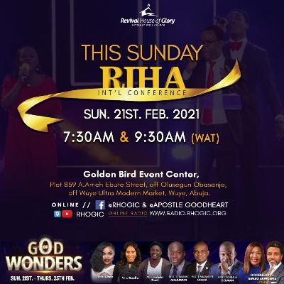 RIHA-IC 2021_(Day 1 Morning)_Divine Visitations for Wonders Pt.1_21-2-2021_Apostle Goodheart Ekwueme